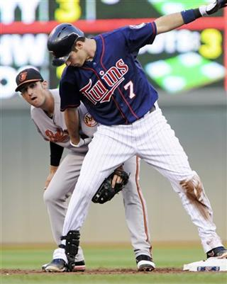 Ryan Flaherty, Joe Mauer
