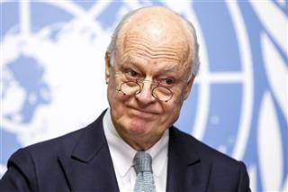 Switzerland UN  Syria Talks