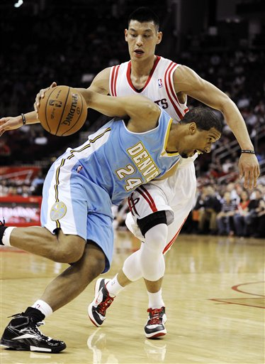 Jeremy Lin, Andre Miller