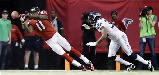 Julio Jones,DeShawn Shead