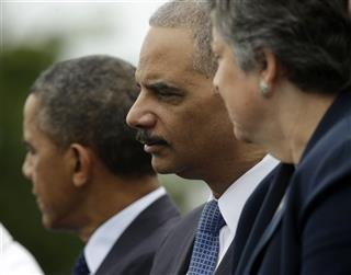 Barack Obama, Eric Holder, Janet Napolitano
