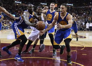 NBA Finals Warriors Cavaliers Basketball