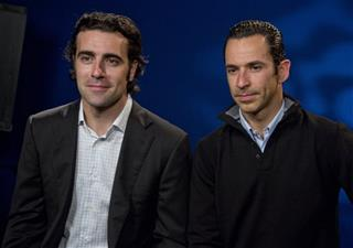 Dario Franchitti, Helio Castroneves