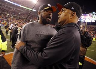 Marvin Lewis, Mike Tomlin