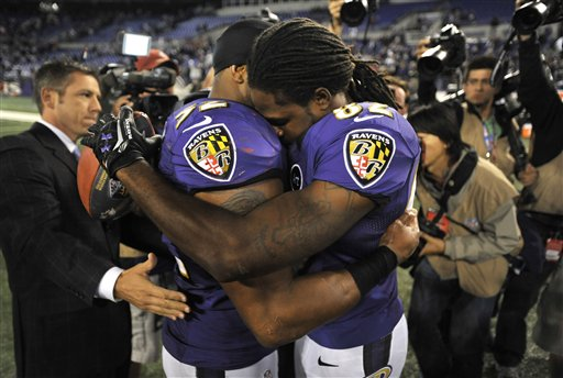 Ray Lewis, Torrey Smith