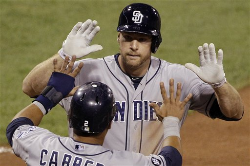 Chase Headley, Everth Cabrera