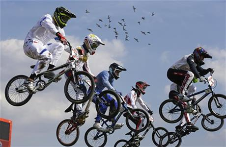 APTOPIX London Olympics BMX Cycling Men