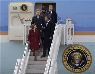 Barrack Obama, Amy Klobachar, Al Franken, Betty McCollum