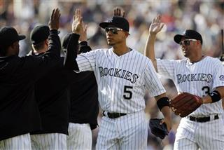 Carlos Gonzalez, Michael Cuddyer