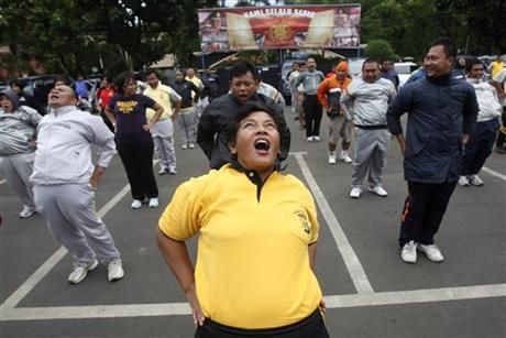 Indonesia Fat Cops