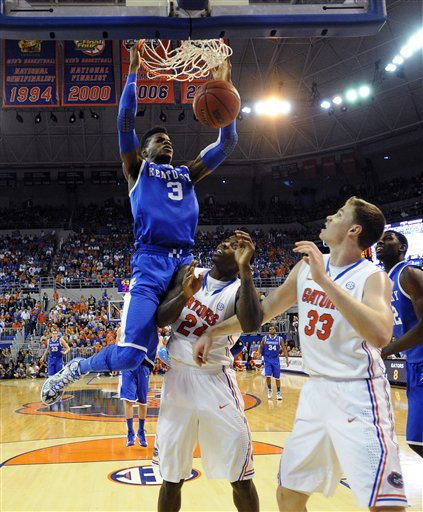 Nerlens Noel, Casey Prather, Erik Murphy