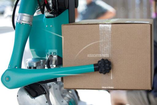 Ford's Two-Legged Robot Delivers Packages To Your Door