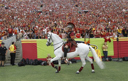California USC Football