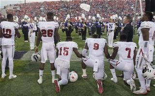 Nebraska Anthem Protest