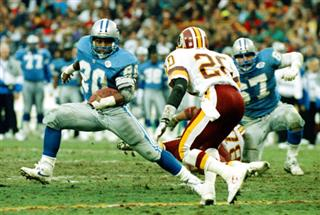 Barry Sanders, Alvoid Mays