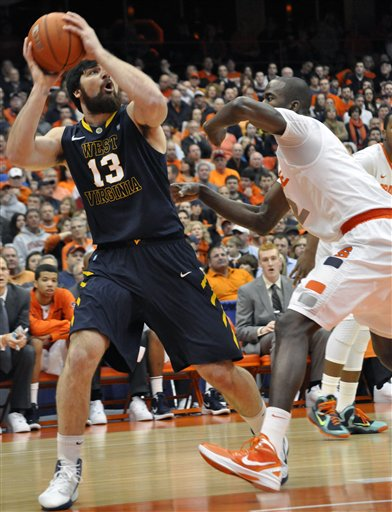 West Virginia Syracuse Basketball