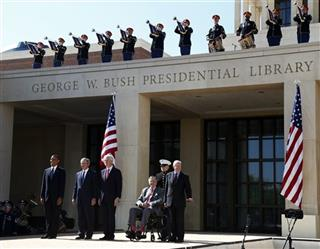 Barack Obama, George W. Bush, Bill Clinton, George H.W. Bush, Jimmy Carter