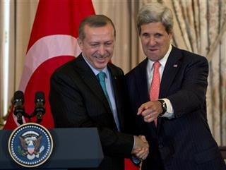 Recep Tayyip Erdogan, John Kerry,