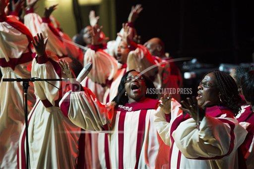 inVision Charles Sykes/Invision/AP A ENT NJ USA INVW McDonald's Gospelfest 2013