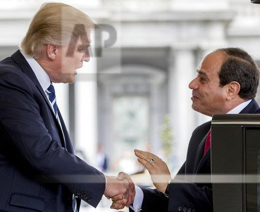 Trump US Egypt
