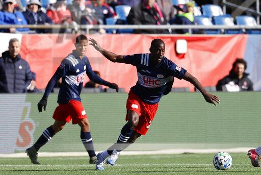 SOCCER: MAR 07 MLS - New England Revolution v Chicago Fire