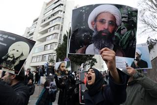 APTOPIX Turkey Saudi Execution Protests