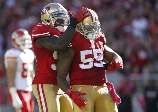 Patrick Willis, Ahmad Brooks