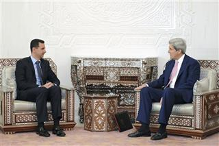 Bashar Assad, John Kerry