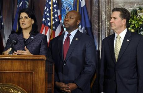 Nikki Haley, Tim Scott, Jim DeMint