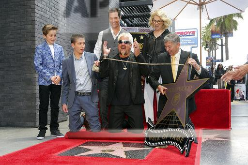 Guy Fieri Honored with a Star on the Hollywood Walk of Fame