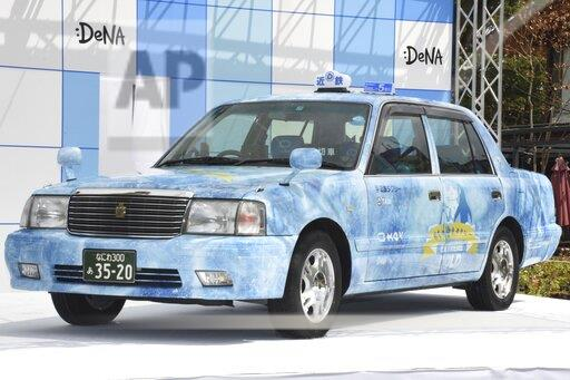 Taxi themed on icing and cooling