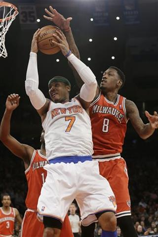 Carmelo Anthony, Larry Sanders
