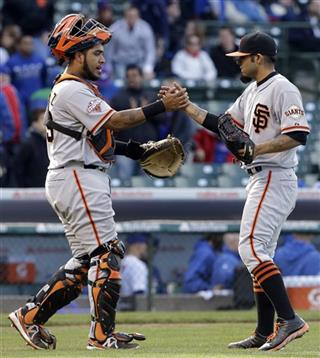 Sergio Romo, Hector Sanchez