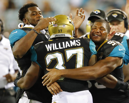 Marquez Williams, Dante Fowler Jr., Calais Campbel