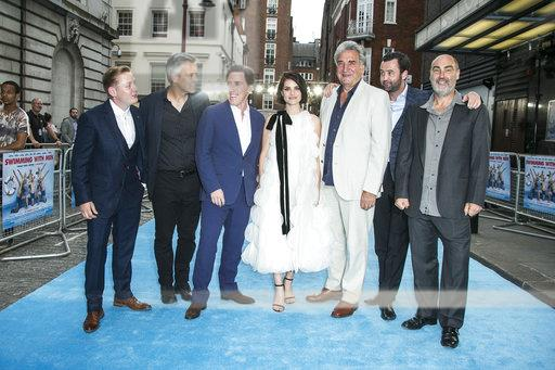Britain Swimming With Men Premiere
