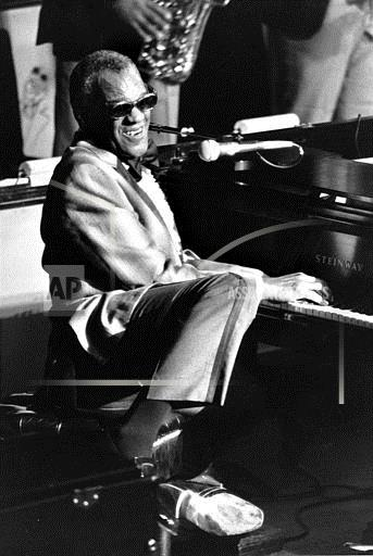Associated Press Domestic News New York United States Entertainment, celebrities RAY CHARLES