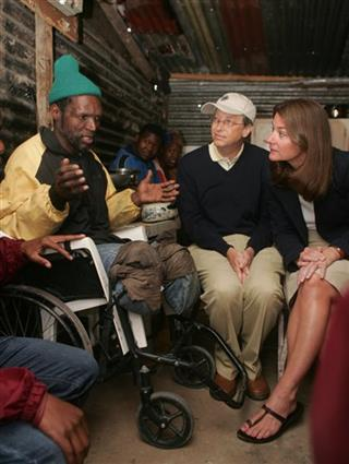 Bill Gates, Melinda Gates, Tatomkhulu-Xhosa