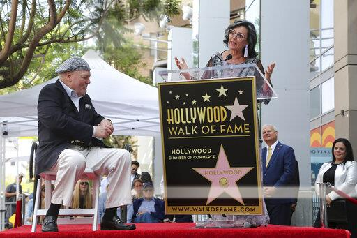 Stacy Keach is Honored with a Star on the Hollywood Walk of Fame