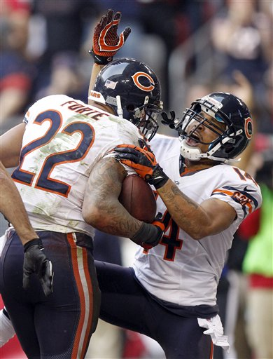Matt Forte, Eric Weems