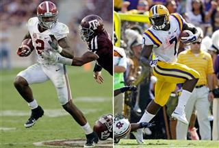 LSU Alabama Big Backs Football