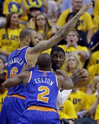 Roy Hibbert, Tyson Chandler, Raymond Felton
