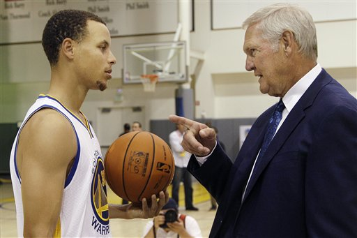 Stephen Curry, Jerry West