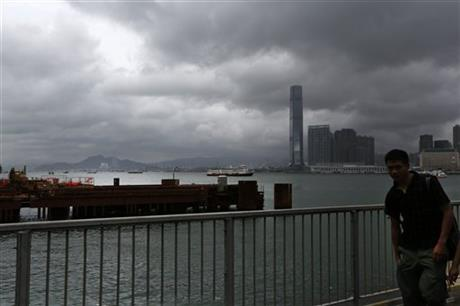 Hong Kong Asia Typhoon