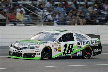 Kyle Busch Gets Nascar Weekend Sweep At Texas Auto Racing