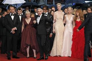 Leonardo DiCaprio, Catherine Martin, Baz Luhrmann, Amitabh Bachchan, Elizabeth Debicki, Carey Mulligan, Isla Fischer