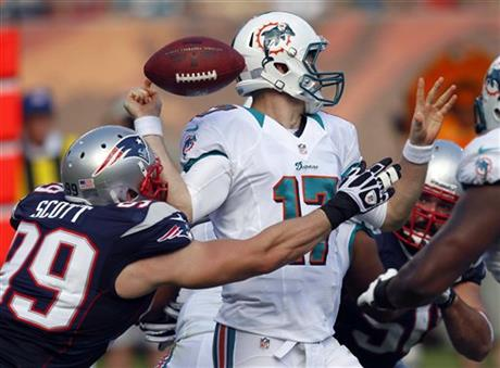 Ryan Tannehill, Trevor Scott