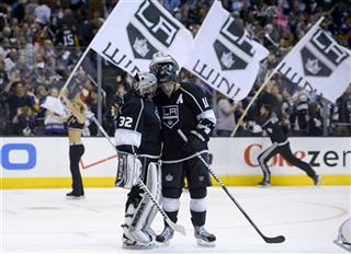 Anze Kopitar, Jonathan Quick