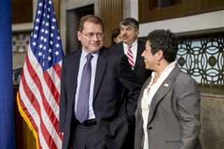 Grover Norquist, Clarissa Martinez-De-Castro, Richard L. Trumka