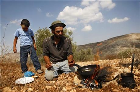 Mideast Palestinians Going Organic