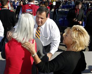 Chick Sorbello, Elizabeth Docimo, Chris Christie